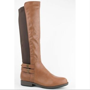 BAMBOO Montana Stretch Back Riding Boots
